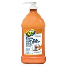 Zep Commercial ZU099148 Orange Heavy-Duty Hand Cleaner with Pump, 48 Oz