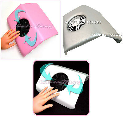 Nail Art Dust Suction Collector Machine Vacuum Cleaner Salon Tool Multi Color