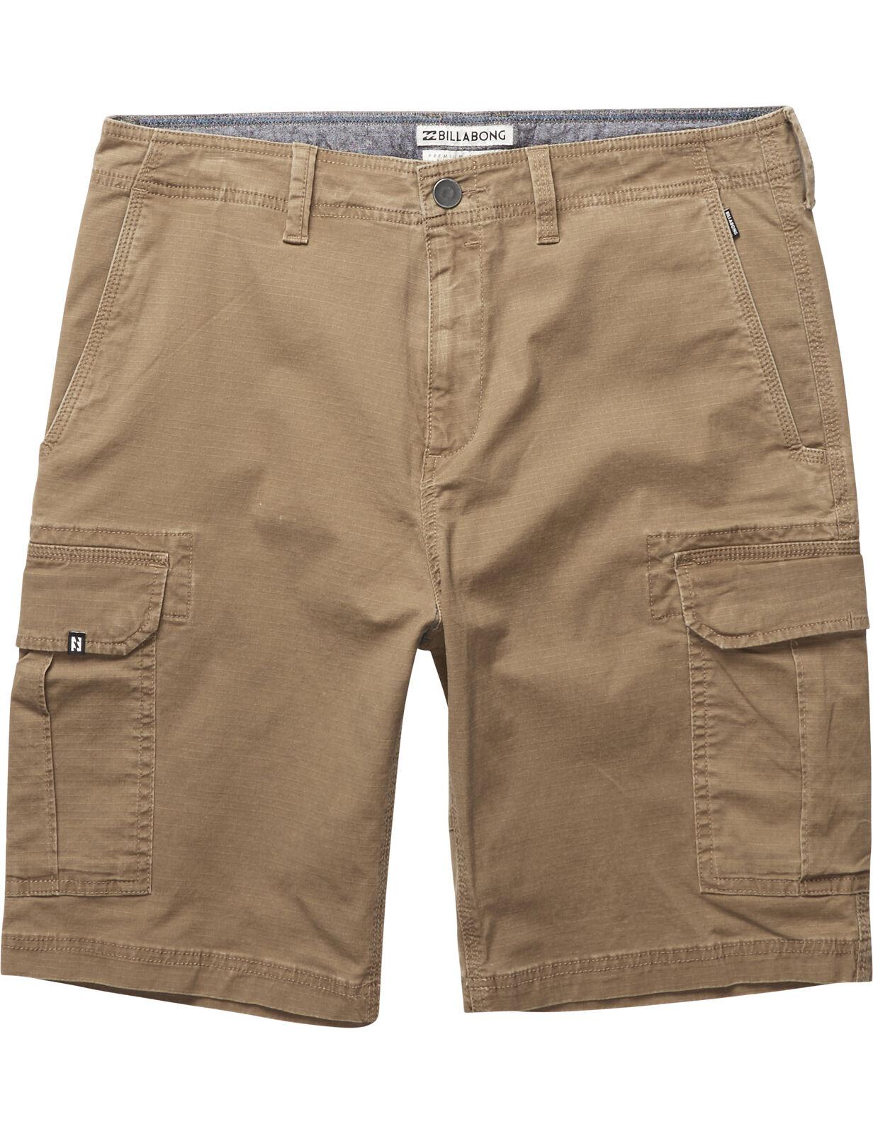 Billabong schema Pantaloni corti con tasconi colore cammello
