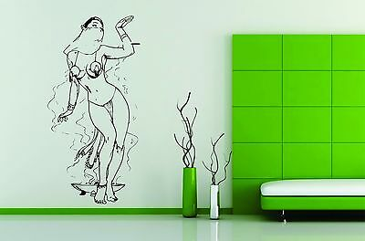 Wall Vinyl Sticker Decals Art Mural Hot Sexy Girl Dance Belly Oriental Beautiful