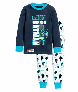 218c8411be H&M Batman Schlafanzug Pyjama Gr. 92,104,110/116,122/128,134/140 4 ...