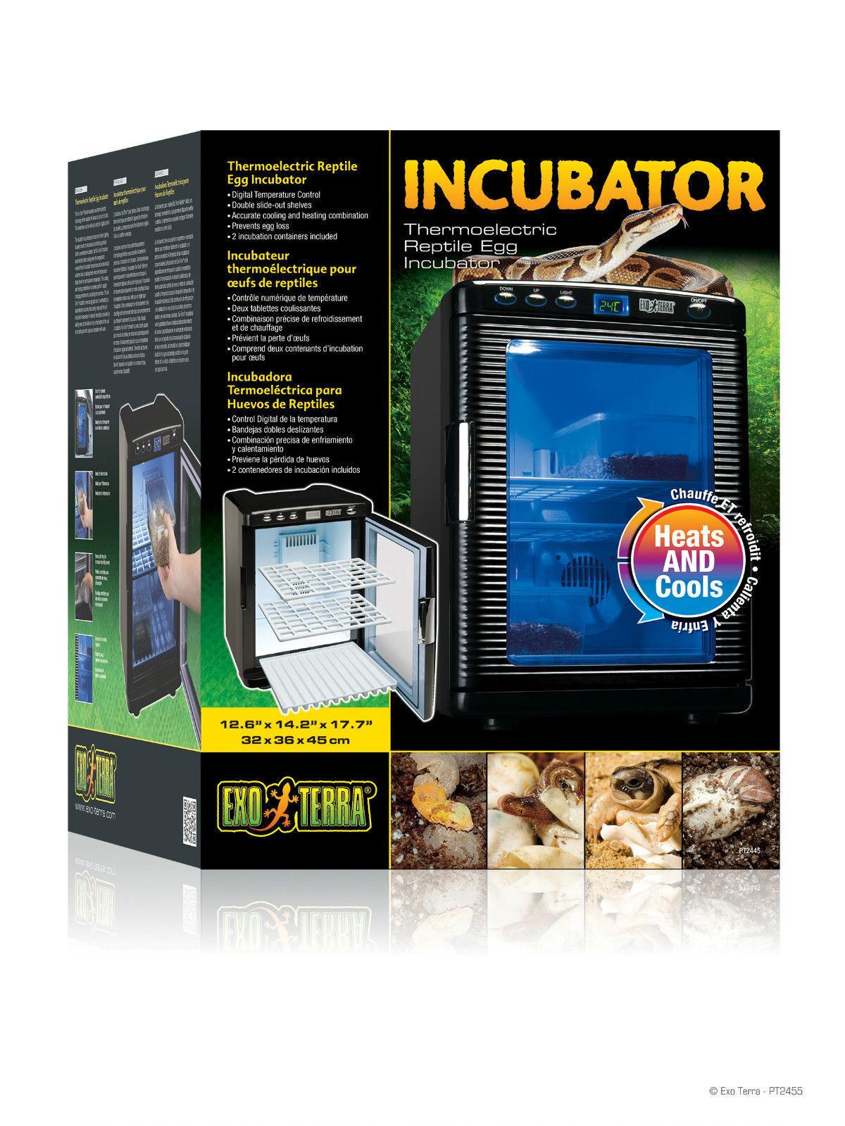 prendiamo i clienti come nostro dio EXO terra rettile uovo incubatore incubatore incubatore Thermoelectric DIGITALE LED LIZARD Serpente pt2445  autorizzazione ufficiale