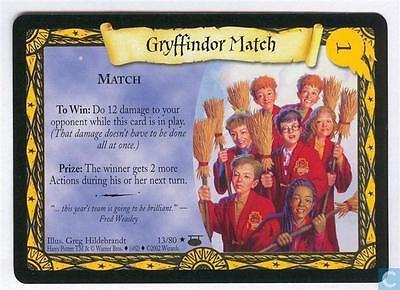 Harry Potter TCG Diagon Alley Gryffindor Match FOIL 13//80