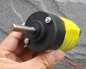 Dc180v 3600rpm Dc Motor With Temperature Protection Switch