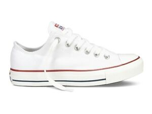 SCARPE UNISEX CONVERSE ESTATE M7652C ALL STAR OX OPTICAL WHITE
