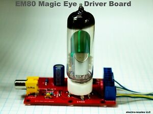 Magic-Eye-Audio-visualizer-driver-board-Suits-EM80-6BR5-tube-novelty-VU-Meter