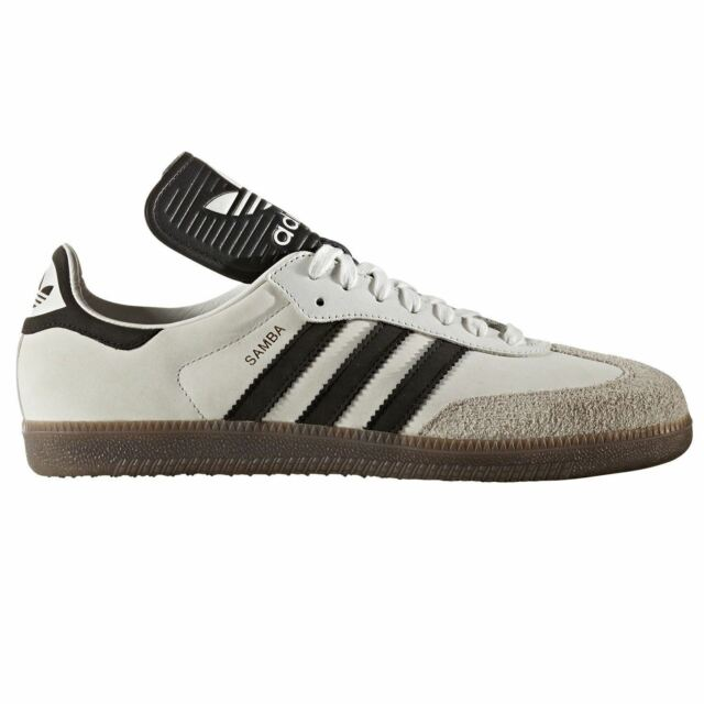 big sale 424e6 8d22a ADIDAS ORIGINALS SAMBA OG MADE IN GERMANY Scarpe da ginnastica White retrò  vintage rare NEW