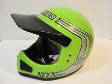 VTG Rare Apple Green MAXON RAM AIR Motocross Moto Motorcycle Helmet sz XL