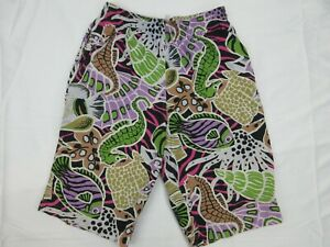 Vintage-Mens-Board-Shorts-Size-L-Beach-90s-Bright-Loud-Surfing-Sports-Mambo