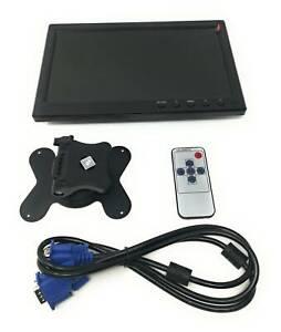 Monitor-LCD-10-1-Pollici-Full-HDMI-Con-Telecomando-Per-Auto-Videosorveglianza