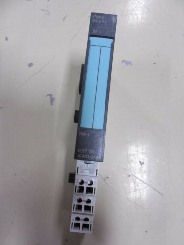 Siemens PLC Module 6ES7 138-4CA01-0AA0//193 4CD20 0AA0 Used Nice D3