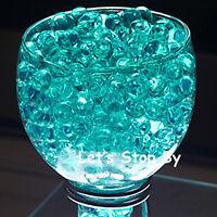 100g Teal Water Pearl Wedding Supplies Eiffel Tower Vase Centerpiece Decoration