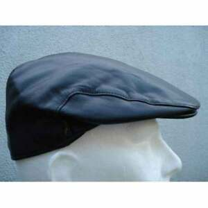 Irish-Lambskin-Leather-Flat-Cap-New-from-Ireland