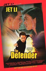 THE-DEFENDER-MOVIE-POSTER-ORIGINAL-27x40-Video-Release-Jet-Li