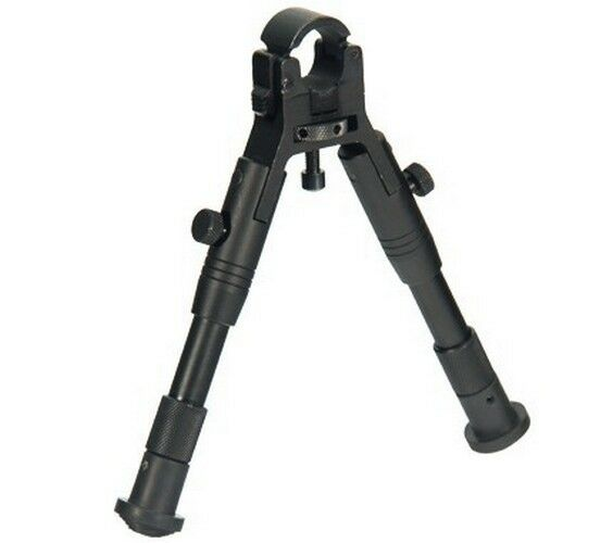 Bipede regolabile con attacco su canna Altezza da cm 17 - UTG Leapers