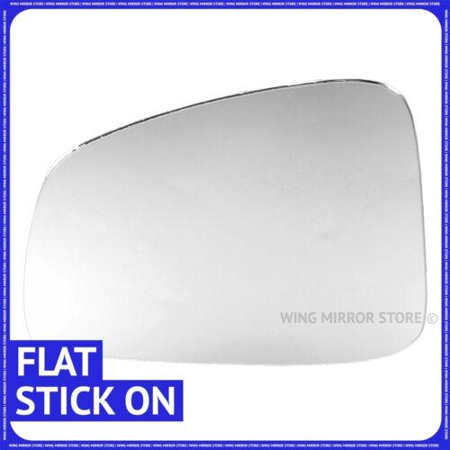 Left hand passenger side for Renault Megane 2009-2016 Flat wing mirror glass