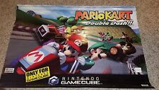 Mario Kart Double Dash Banner Official Nintendo Display gamecube vinyl Store