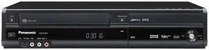 Panasonic-DMR-EZ49V-Noir-DVD-amp-VHS-Enregistreur-Combo-Tnt-Noir-USB