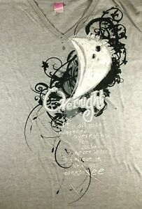 2010-Amy-Grant-Overnight-T-Shirt-Gray-2XL-Womens-Somewhere-Down-the-Road
