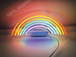 New Rainbow Neon Sign Acrylic Gift Light Lamp Bar Wall Room Decor 15