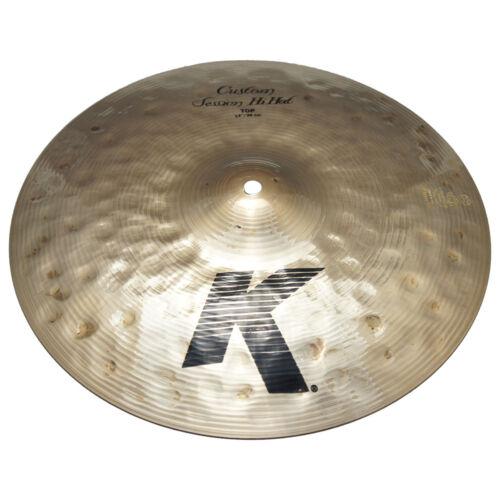 Zildjian K0994 14 K Custom Series Session Hi Hat Top Drumset Cymbal - Used