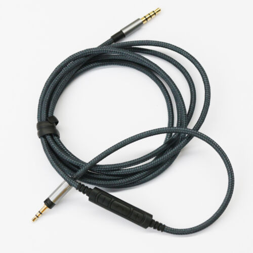New Cable with Remote /& Mic for all Sennheiser Momentum Over On-Ear Headphones