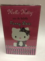 Funny Love By Hello Kitty 1.6 Oz Edt Spray Perfume And Sealed.