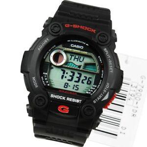 9746dae9d74 BRAND NEW CASIO G-SHOCK G7900-1 DIGITAL RESCUE BLACK RED WATCH NWT ...