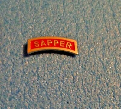 Army Special Forces Tab Badge Dress Miniature