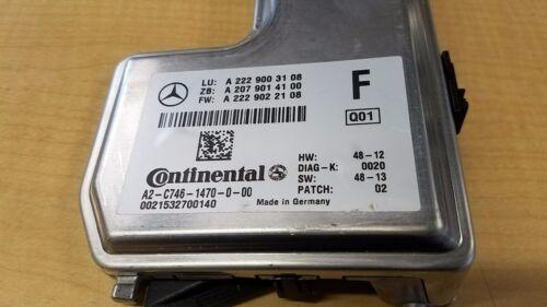15 MERCEDES BENZ S550 LINE CAMERA SURROUND WINDSHIELD # A2229003108 GENUINE OEM