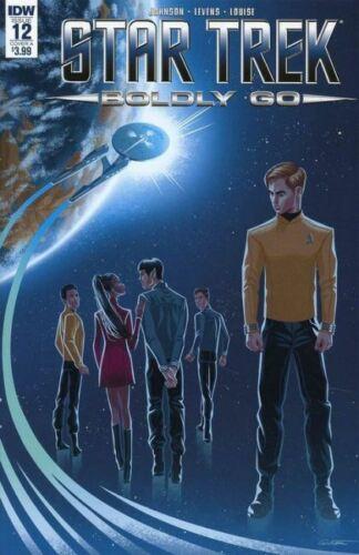 Star Trek Boldly Go #12 Cover A NM 2017 IDW Vault 35