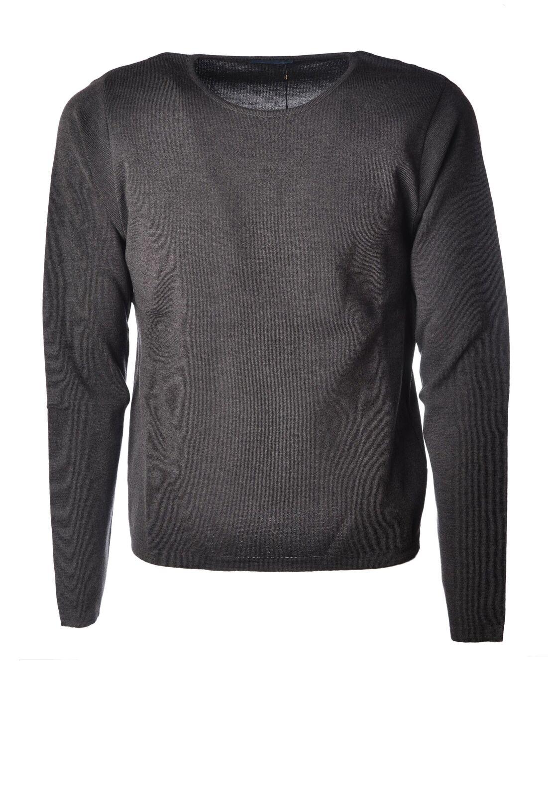 Paolo Fumagalli  -  Sweaters - Male - Grau - 4164528A184915