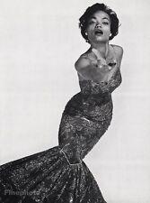 1955 Vintage 16x20 EARTHA KITT Actress Singer Comedy Photo Art PHILIPPE HALSMAN