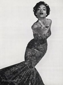 poster Eartha Kitt reproduction Vintage Magazine cover wall art