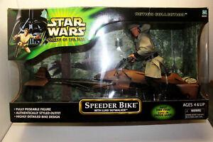 "12"" Luke Skywalker On Speeder Bike Star Wars Return Of The Jedi"