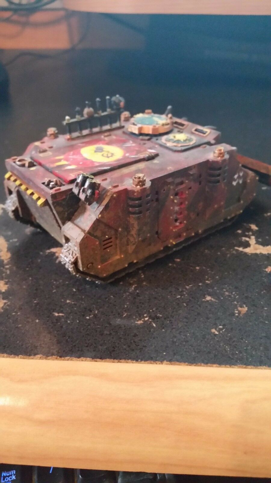 Warhammer 40k Ork Orks Looted tank Vehicle Rhino Pro Painted