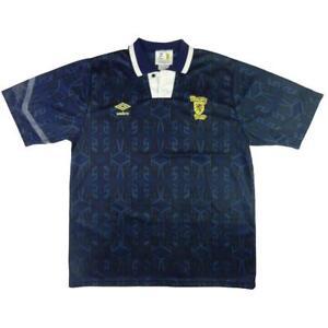 1992-94-Scozia-Maglia-Home-L-SHIRT-MAILLOT-TRIKOT