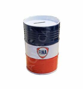 Tirelire-Forme-Fut-D-039-huile-Sous-Licence-Fina