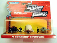 Starship Troopers Micro Machines Set 1 Of Tac Fighter, Brain Bug, Chariot Bug +