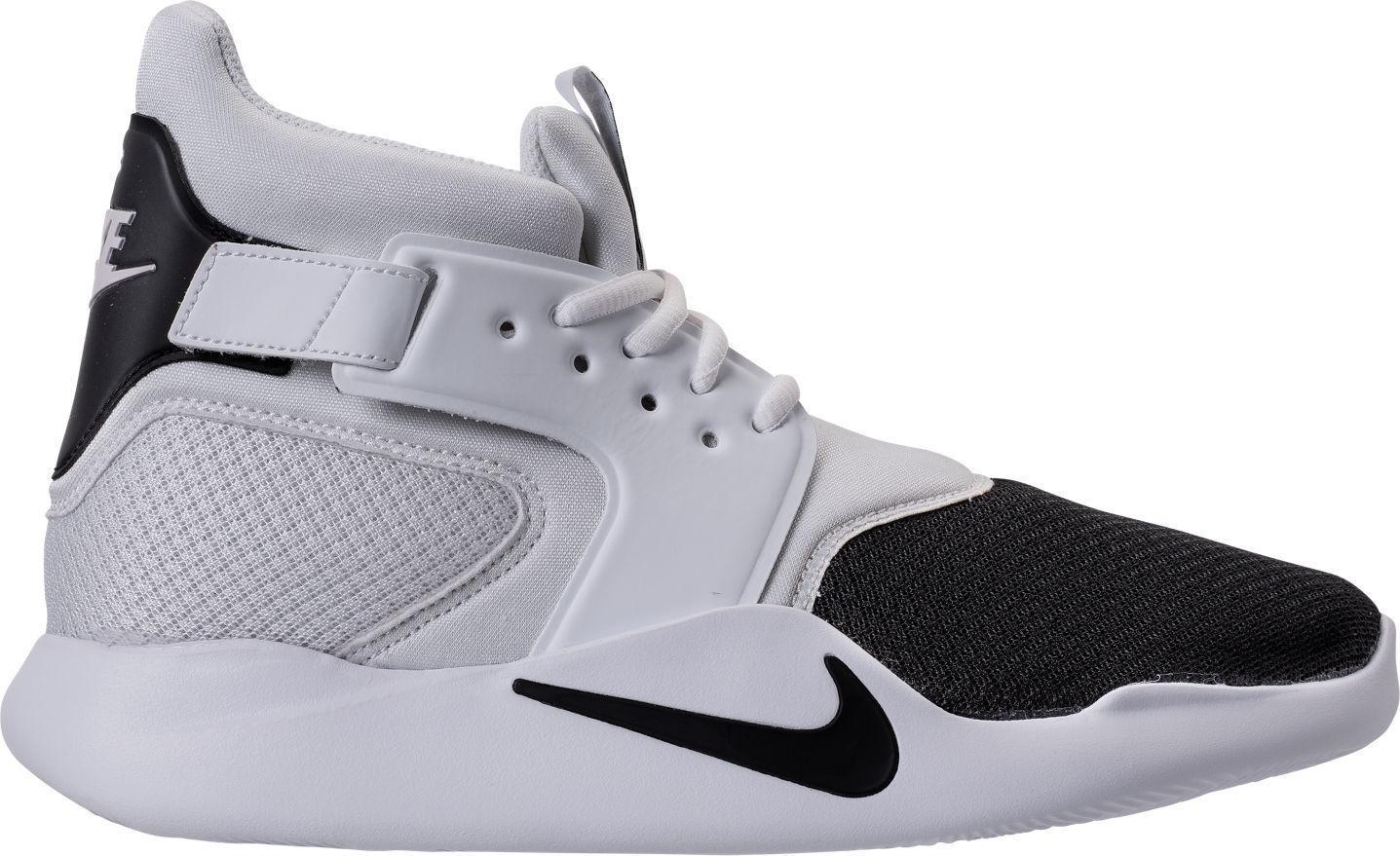 Nike Incursion Men's  Basketball shoes Black Black White 917541 004