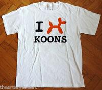 Jeff Koons X Christie's Ny 'orange Balloon Dog', 2013 T-shirt L Rare