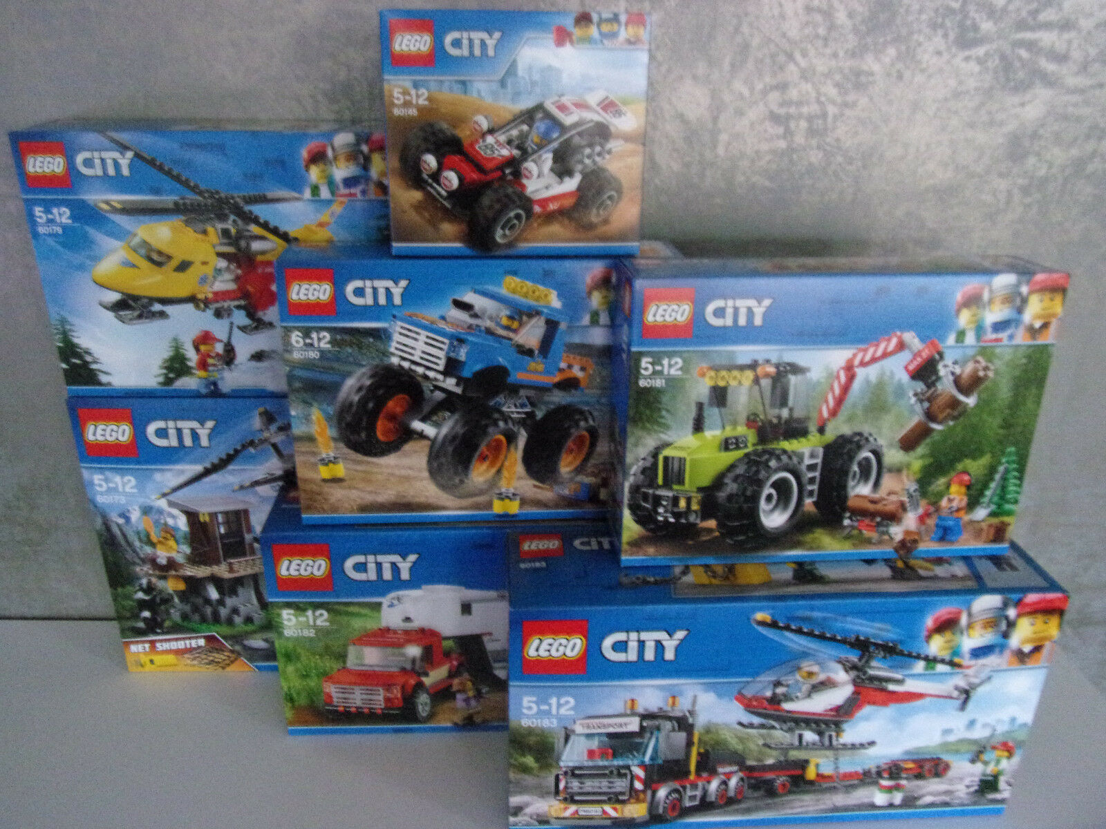 Lego City - Different Set's for Selection - Nip