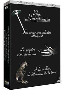 Ray-Harryhausen-6-DVD-Les-Soucoupes-Volantes-Attaquent-Le-Monstre-A-des-m