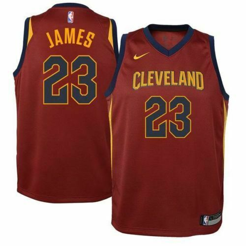 NIKE NBA LEBRON JAMES CLEVELAND CAVALIERS ,,23'' YOUTH JERSEY SIZE S 8-10 YEARS