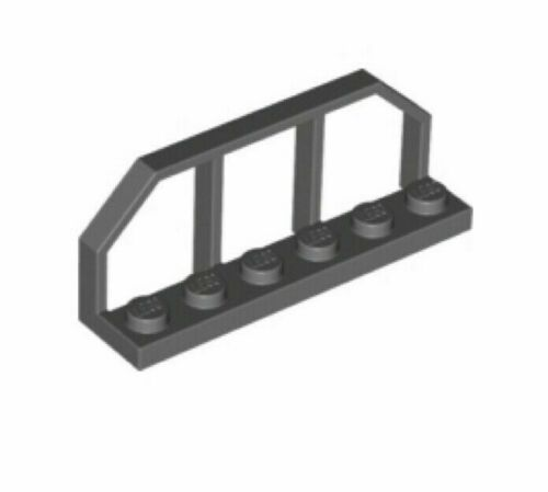 Barrière GRIS F//D GREY Hand Rail 1,5x6x2-6112207 LOT X2 Lego 6583