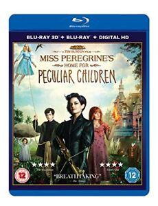Miss-Peregrine-039-s-Home-For-Peculiar-Children-Blu-ray-2016-DVD-Region-2
