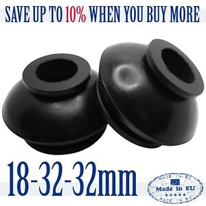 2-X-High-Quality-Rubber-18-32-32-Dust-Cover-and-Ball-Joint-Boots-Tie-Rod-End