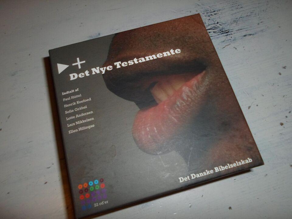 Det nye Testamente (22 Cd'er), Det Danske Bibelselskab,