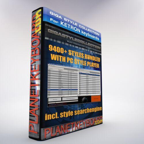 NOT PLUS PC Style Player als Download TOP! 9400 Neue Styles für KETRON MIDJAY