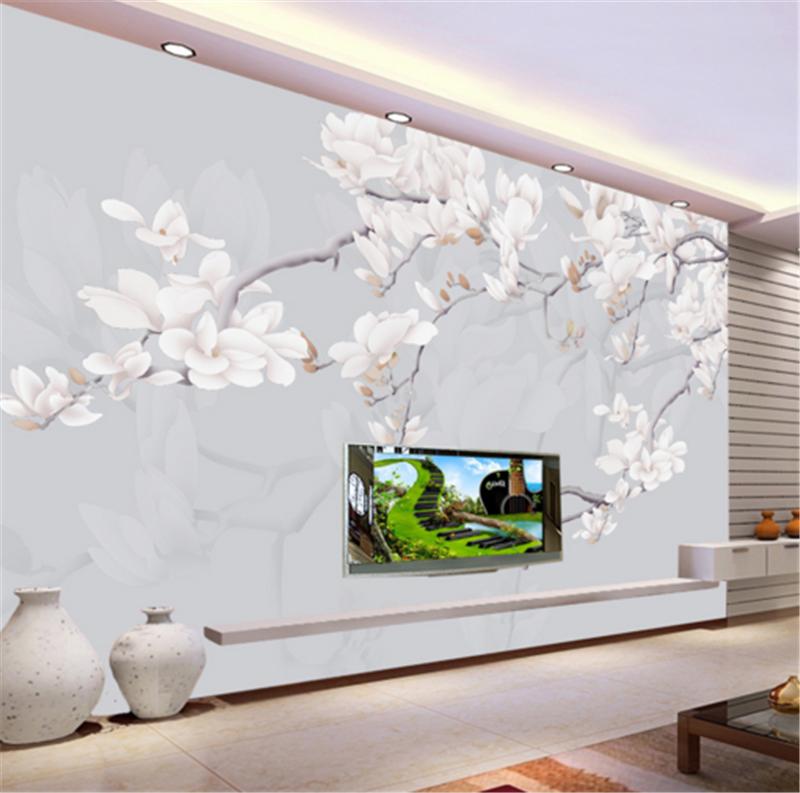 3D Branches Weiß Pear 883 Wallpaper Mural Paper Wall Print Wallpaper Murals UK